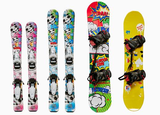 ジュニア&キッズ スキー・スノーボード